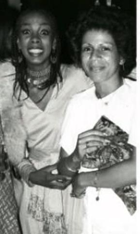 Donna Summer and Minnie Riperton
